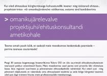EHITUSE OMANIKUJÄRELEVALVE PROJEKTIJUHT/EHITUSKONSULTANT