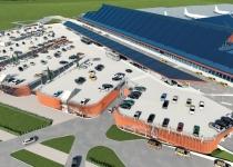 Tallinna Lennujaama uue parkimismaja ehitustööd